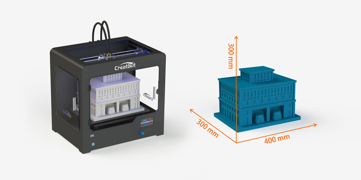 CreatBot DE Large Build Size Printer
