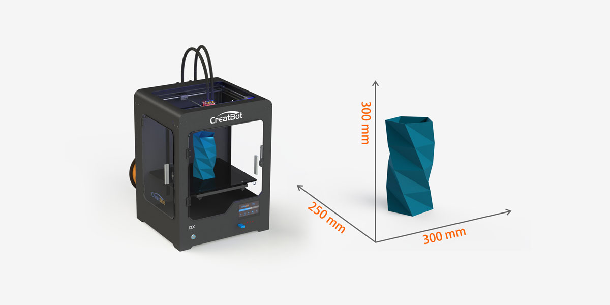 CreatBot DX Large Build Size Printer