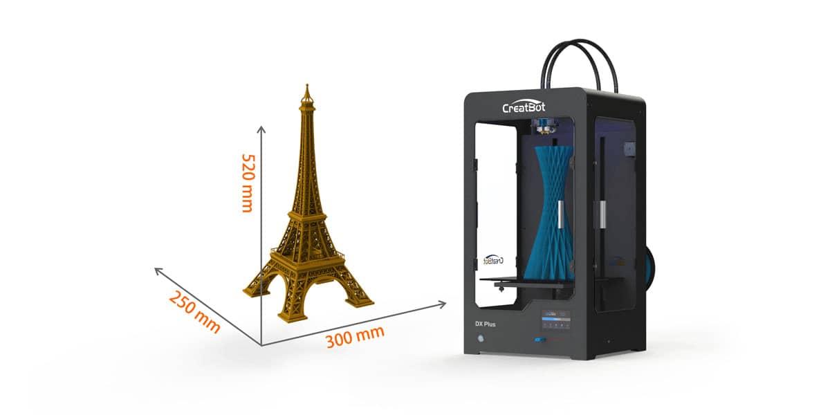 CreatBot DX Plus Large Build Size Printer