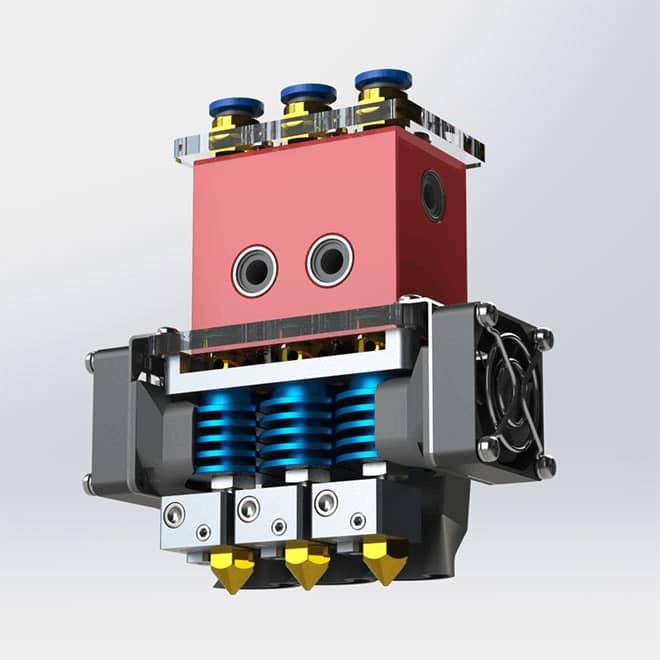 CreatBot DX Triple Extruders