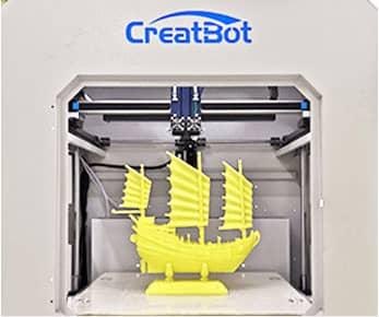 CreatBot D600 Принципиальная схема расходных материалов и приложений