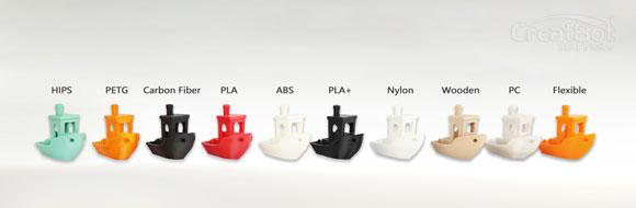 CreatBot 3D Printing sample w-01-EN