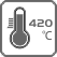 420 degree hotend icon